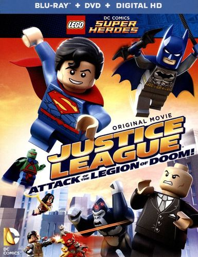 LEGO DC Comics Super Heroes: Justice League - Attack of the Legion of Doom [Blu-ray/DVD] 4521800