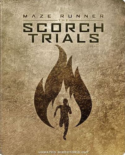 The Maze Runner: The Scorch Trials [Includes Digital Copy] [Blu-ray] [SteelBook] [Only @ Best Buy] [2015] 4526305