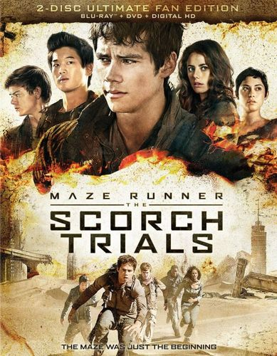 The Maze Runner: The Scorch Trials [Includes Digital Copy] [Blu-ray] [2015] 4526500