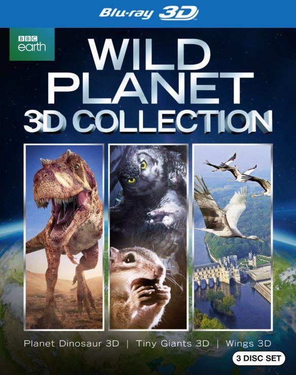 Wild Planet [3D] [Blu-ray] [3 Discs] [Blu-ray/Blu-ray 3D] 4539000