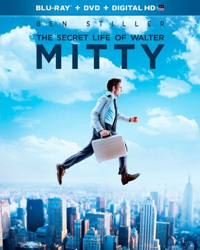 The Secret Life of Walter Mitty [2 Discs] [Includes Digital Copy] [Blu-ray/DVD] [2013] 4539088