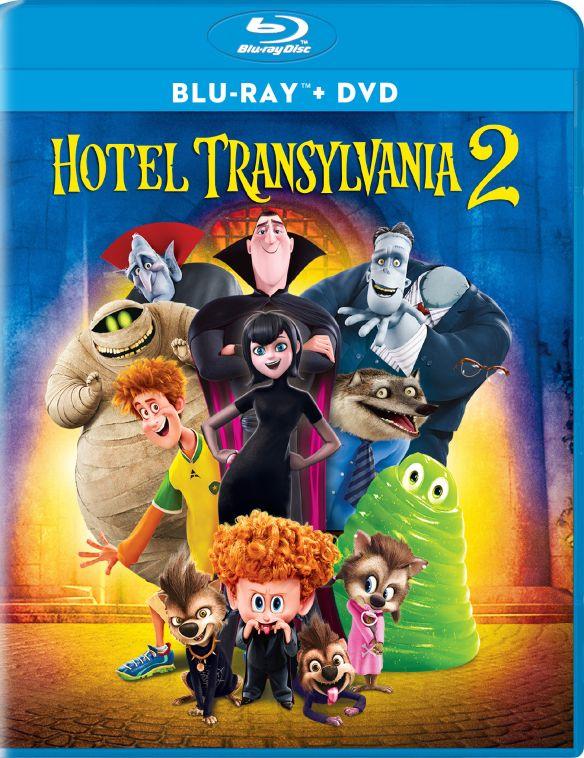 Hotel Transylvania 2 [Ultraviolet] [Blu-ray/DVD] [2015] 4539300