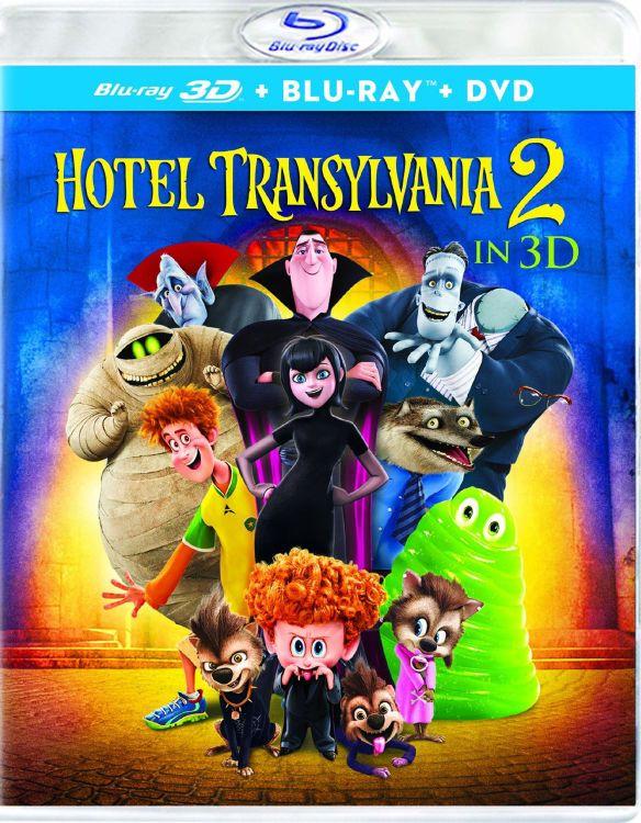 Hotel Transylvania 2 [3D] [Ultraviolet] [Blu-ray/DVD] [Blu-ray/Blu-ray 3D/DVD] [2015] 4539302