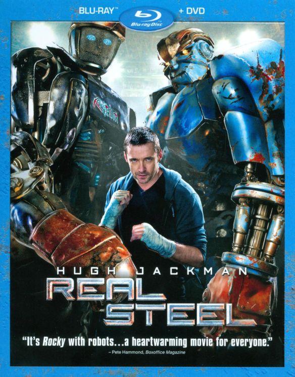 Real Steel [2 Discs] [Blu-ray/DVD] [2011] 4551111