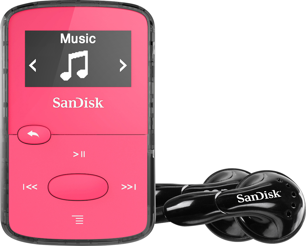 SanDisk SDMX26-008G-G46P Clip Jam 8GB* MP3 Player Pink