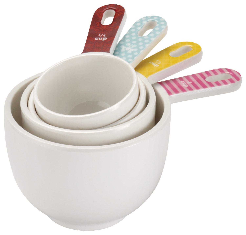 Cake Boss - 4-Piece Melamine Measuring Cups Set - Multi 4554852