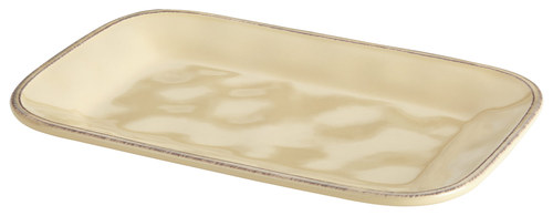 Rachael Ray - Cucina Rectangular Platter - Almond Cream 4554902