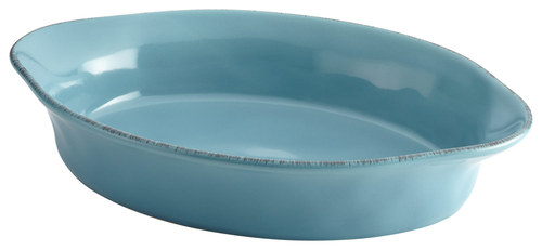 Rachael Ray - Cucina 2-Quart Oval Baker - Agave Blue 4555009