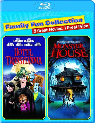 Hotel Transylvania/Monster House [Blu-ray] [2 Discs] 4556400