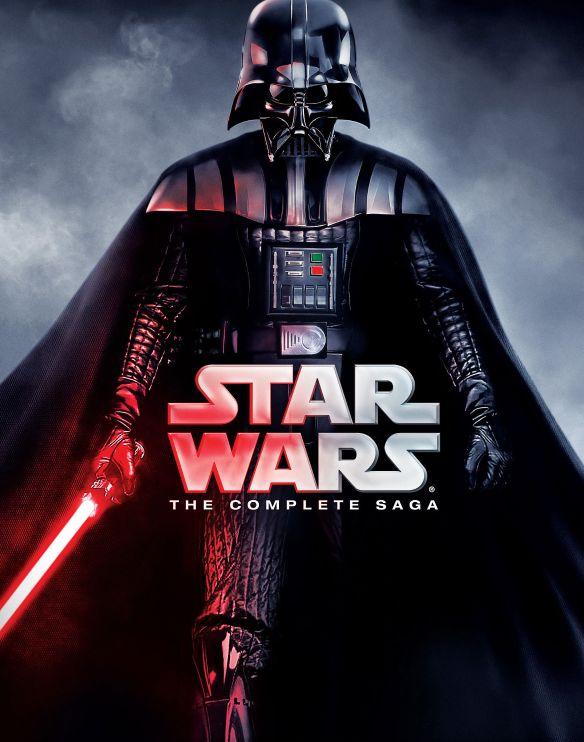 Star Wars: The Complete Saga [Blu-ray] [9 Discs] 4558500