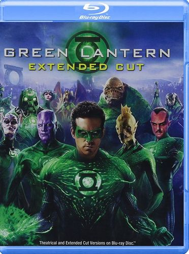 Green Lantern [Extended Cut] [Blu-ray] [2011] 4561825