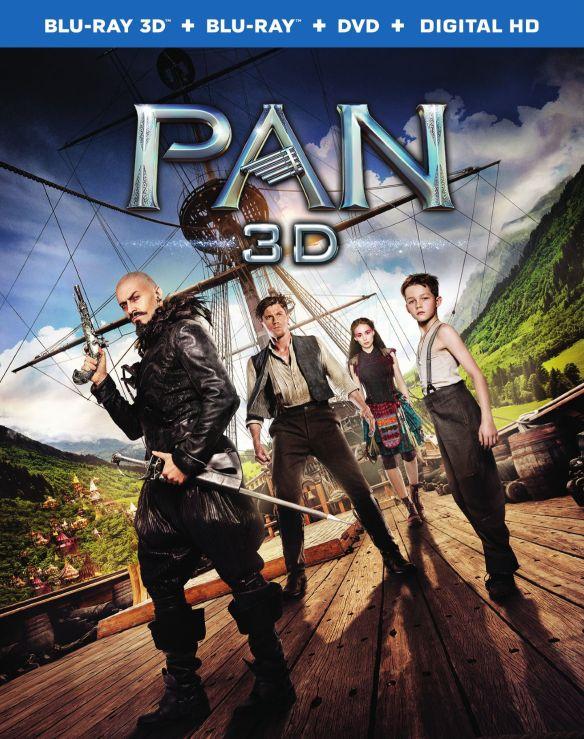 Pan [3D] [Blu-ray/DVD] [Blu-ray/Blu-ray 3D/DVD] [2015] 4562310