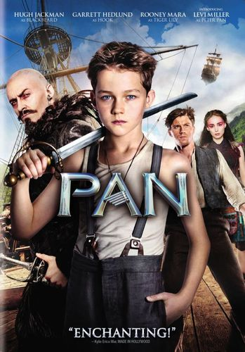 Pan [Includes Digital Copy] [DVD] [2015] 4562313