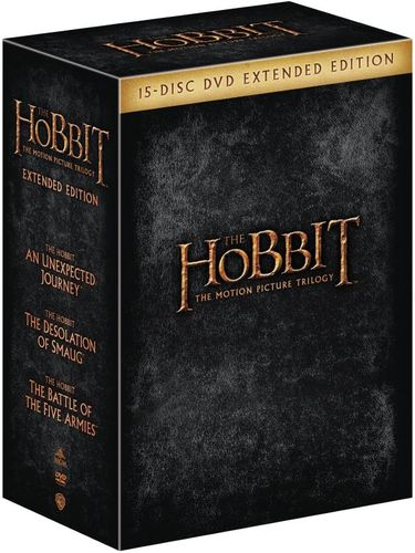 The Hobbit: The Motion Picture Trilogy [Extended Edition] [DVD] 4563508