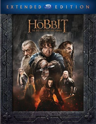 The Hobbit: The Battle of the Five Armies [Extended Edition] [Blu-ray] [2014] 4563512