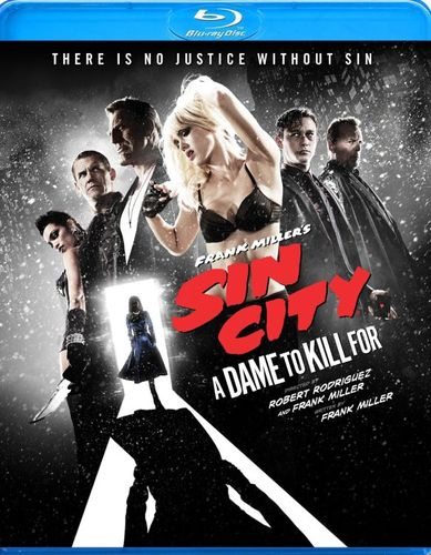 Frank Miller's Sin City: A Dame to Kill For [Blu-ray] [2014] 4567000