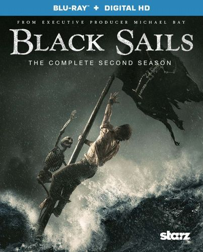 Black Sails: The Complete Second Season [Includes Digital Copy] [Ultraviolet] [Blu-ray] 4567004