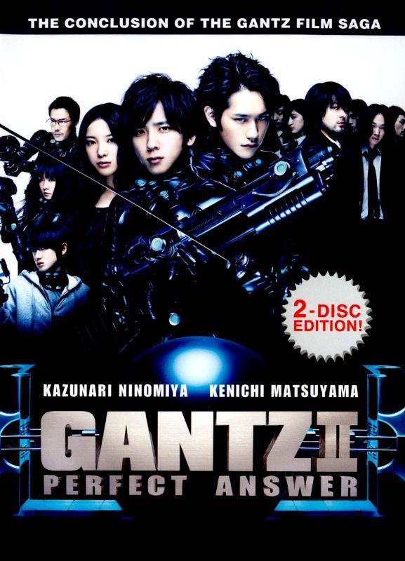 Gantz II: Perfect Answer [2 Discs] [DVD] [2011] 4569483