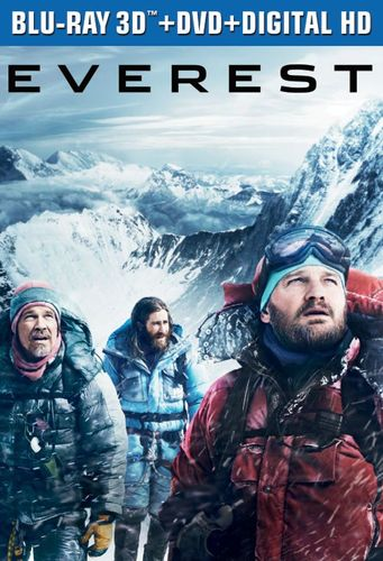 Everest [Includes Digital Copy] [3D] [Blu-ray/DVD] [Blu-ray/Blu-ray 3D/DVD] [2015] 4572814