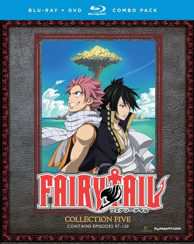 Fairy Tail: Collection Five [Blu-ray/DVD] [8 Discs] 4572903