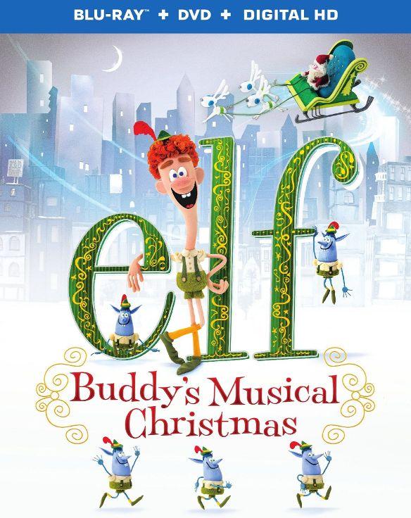 Elf: Buddy's Musical Christmas [Blu-ray/DVD] [2014] 4576611