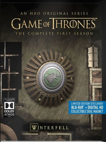 Game of Thrones: The Complete First Season [Blu-ray] [SteelBook] [5 Discs] 4576616