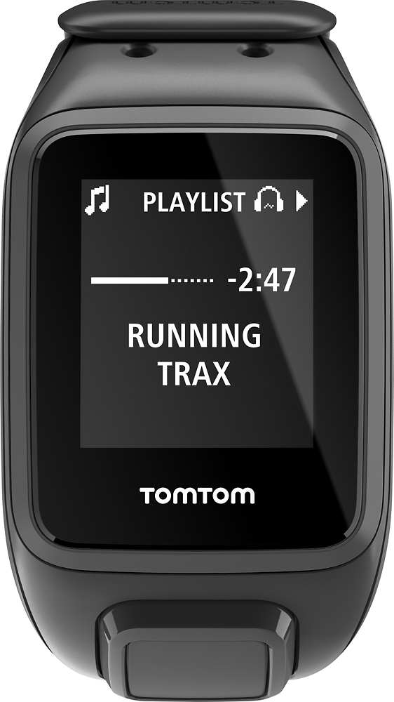 TomTom Spark Cardio + Music Fitness Watch + Heart Rate (Large) Black 1RFM.002.01