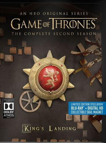 Game of Thrones: The Complete Second Season [Includes Digital Copy] [Blu-ray] [5 Discs] [SteelBook] 4579908