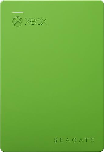 Seagate - Game Drive for Xbox 2TB External USB 3.0 Hard Drive - Green