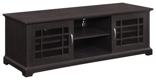 """Whalen Furniture - TV Console for Most Flat-Panel TVs Up to 70"""" - Espresso"""