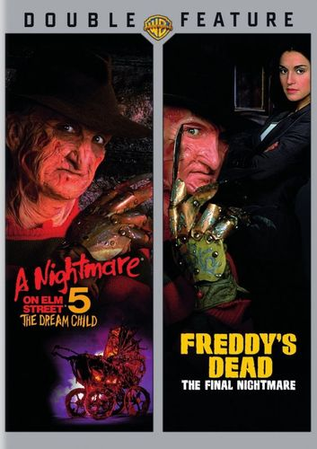 A Nightmare on Elm Street 5: The Dream Child/Freddy's Dead: The Final Nightmare [2 Discs] [DVD] 4586700