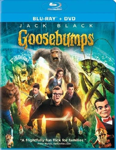 Goosebumps [Includes Digital Copy] [Blu-ray/DVD] [2 Discs] [2015] 4595086
