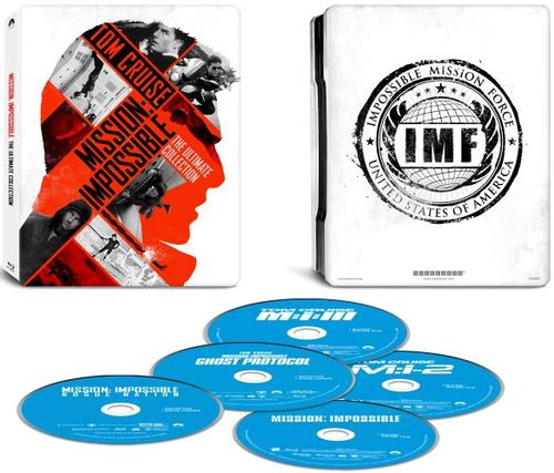 Mission: Impossible - The Ultimate Collection [Blu-ray] [Only @ Best Buy] [SteelBook] 4596001