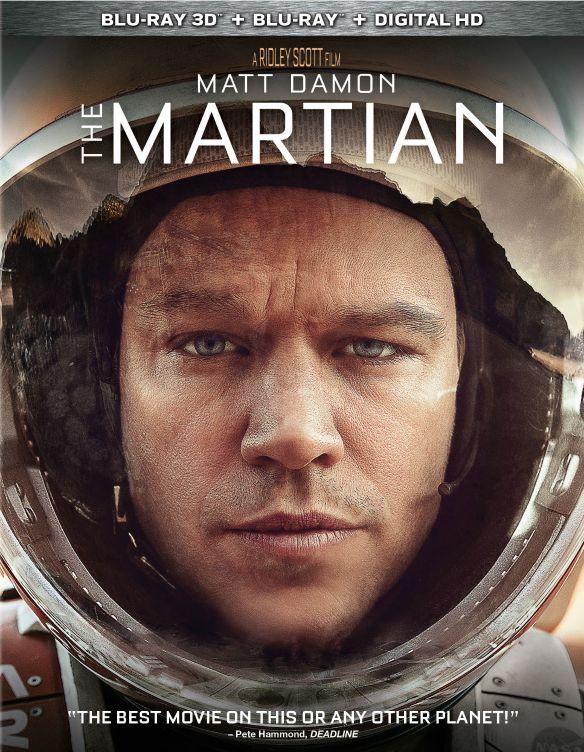 The Martian [Includes Digital Copy] [3D] [Blu-ray] [Blu-ray/Blu-ray 3D] [2015] 4596500