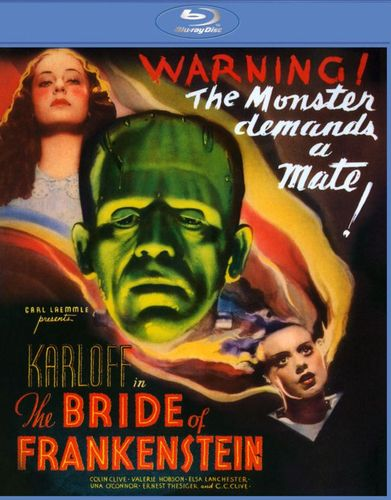 The Bride of Frankenstein [Blu-ray] [1935] 4601105