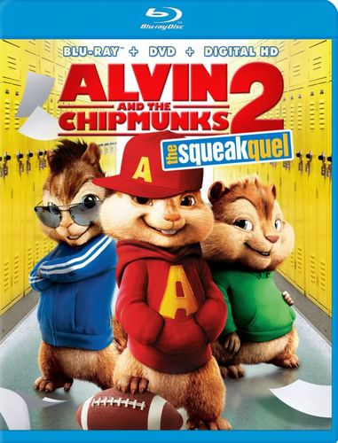 Alvin and the Chipmunks: The Squeakquel [Blu-ray/DVD] [2 Discs] [2009] 4601320