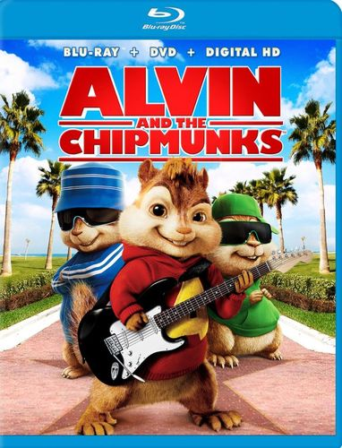 Alvin and the Chipmunks: With Movie Money [Blu-ray/DVD] [2 Discs] [2007] 4601321
