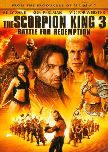 The Scorpion King 3: Battle for Redemption [DVD] [2012] 4601865