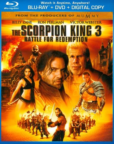 The Scorpion King 3: Battle for Redemption [2 Discs] [Includes Digital Copy] [Blu-ray/DVD] [2012] 4601901