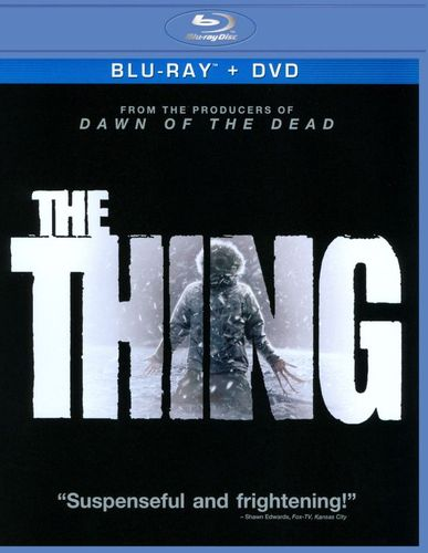 The Thing [2 Discs] [Includes Digital Copy] [UltraViolet] [Blu-ray/DVD] [2011] 4601938