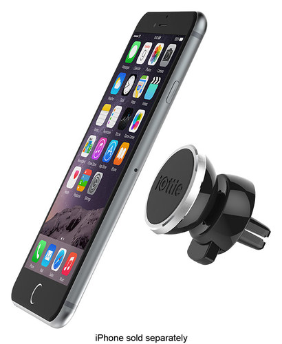 iOttie - iTap Magnetic Car Vent Mount Holder for Select Cell Phones - Black 4605203