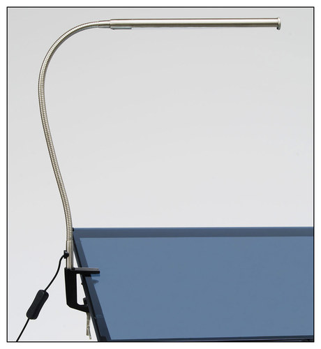Studio Designs LED Bar Lamp - Silver - 1.25 in x 2.5 in x 37.25 in