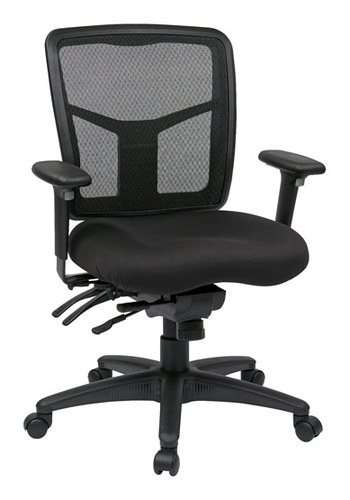Office Star ProGrid Back Mid Back Managers Chair