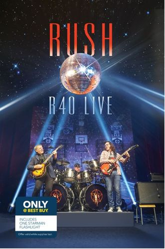 R40 Live [Deluxe Version] [Only @ Best Buy] [CD & Blu-Ray] 4610346