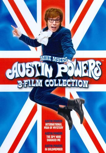 Austin Powers 3 Film Collection [2 Discs] [DVD] 4615225