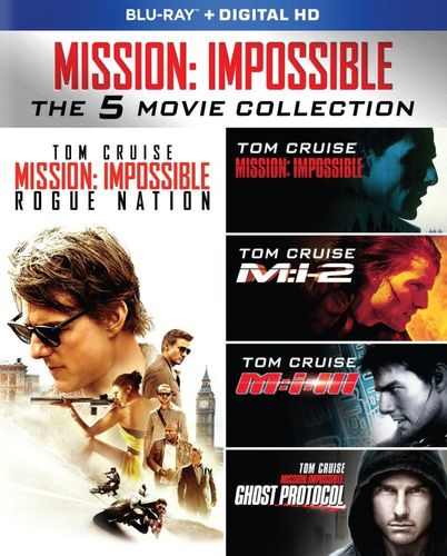 Mission: Impossible 5-Movie Collection [Blu-ray] [5 Discs] 4616201