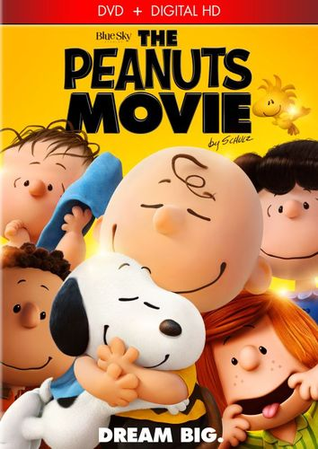 The Peanuts Movie [Includes Digital Copy] [DVD] [2015] 4616901