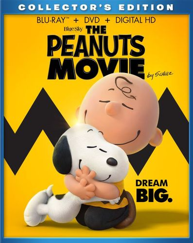 The Peanuts Movie [Includes Digital Copy] [Blu-ray/DVD] [2015] 4617002
