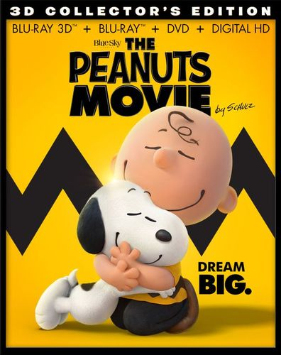 The Peanuts Movie [Includes Digital Copy] [3D] [Blu-ray] [Blu-ray/Blu-ray 3D] [2015] 4617100