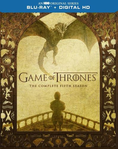 Game of Thrones: The Complete Fifth Season [Blu-ray] [4 Discs] 4624520